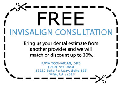 Free Invisalign Consultation | Roya Toomarian, DDS | Irvine Cosmetic Dentist